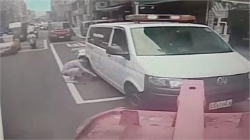 閃燈救護車遭拖吊 警:非緊急救護狀態