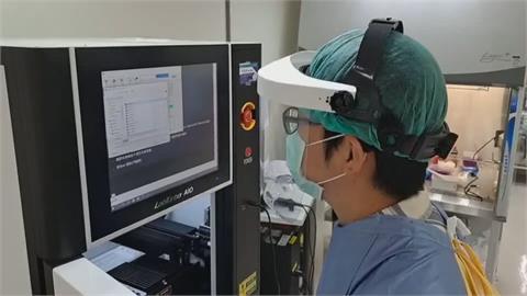 基隆長庚自動武肺檢測機台 PCR生力軍!每天可採檢840例