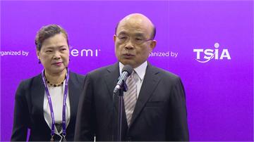 快新聞/中國軍機頻擾台 蘇貞昌:讓台灣穩定發展對中國比較好