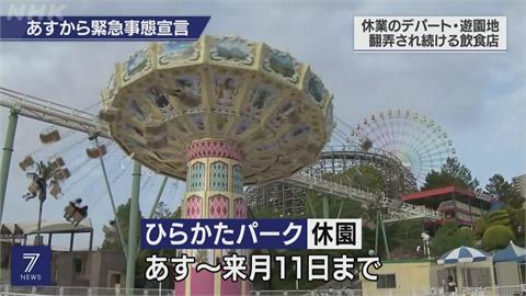 日本東京、大阪等四地 今起進入17天緊急狀態