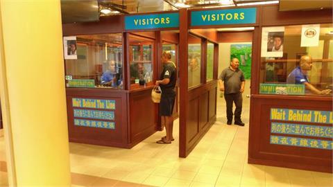 快新聞/「旅遊泡泡」帛琉機場演練畫面曝光! 在地居民模擬排隊採檢人潮