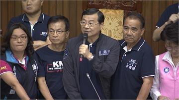 立法院新會期首日  國民黨團杯葛蘇揆上台報告