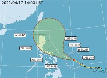 快新聞/「舒力基」轉強颱! 最新路徑圖曝光 東半部有雨