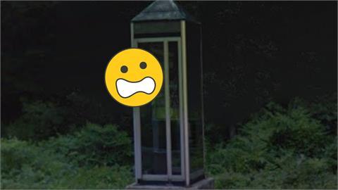 Google地圖驚見詭異電話亭!蒼白人臉「直盯鏡頭」網嚇:不敢睡了