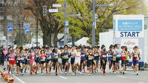 北海道札幌疫情持續升溫 東奧馬拉松測試賽仍照常舉行