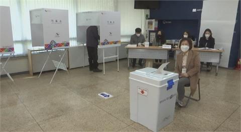 南韓補選投票率高 首爾.釜山市長結果受關注