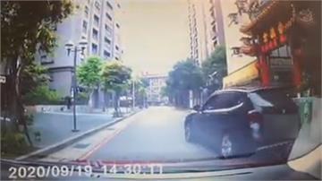 違停被後車按喇叭竟亮開山刀威嚇警掌握影片、車號循線約談惡駕駛