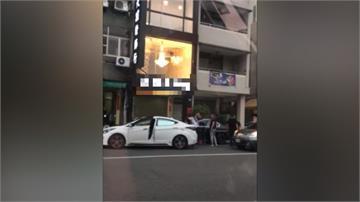 中清路攔車砸車傷人 警方3小時火速逮捕6嫌