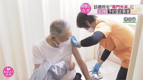 日本高齡疫苗接種率不到1% 如何提高接種率成難題