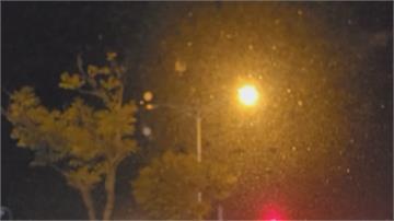 轉吧!七彩霓虹燈! 花壇鄉路燈閃爍搭配號誌交錯「像夜店」
