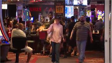 賭城拉斯維加斯4日局部重開  遊客排長龍進場試手氣