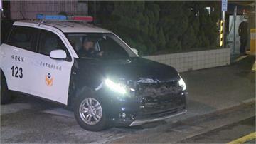 貨車攔查不停跑給警察追 駕駛拒檢衝撞警車棄車逃
