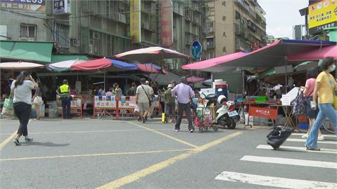 端午前夕濱江市場擠爆項跨年 柯P勸民眾推菜籃車一次買個夠