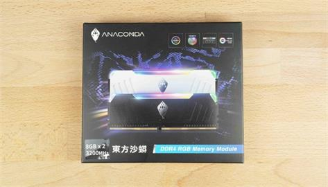 電腦上演白蛇傳?這條白蛇真的漂亮!ANACOMDA 東方沙蟒 DDR4–3200 8GBx2