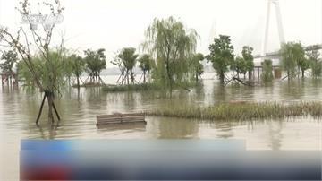 長江第三洪峰淹古鎮直衝三峽大壩!專家聲稱:可防可控