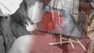 潑漆李登輝肖像 鄭惠中:我爸爸叫我討厭台獨