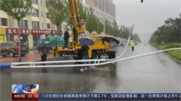 梅莎降為溫帶氣旋 挾帶雨彈侵襲中國東北