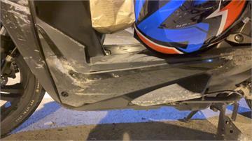 恐怖!蘇花南澳段碎石滿地 2機車騎士失控自摔 全身擦傷