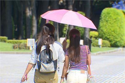 快新聞/東部、中南部熱爆!全台9縣市嚴防36度以上高溫