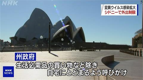澳洲雪梨單日確診創新高 紐澳旅遊泡泡喊卡