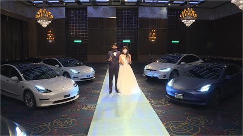 婚禮不宴客!業者首創drive-in婚禮 車子直接開進宴會廳