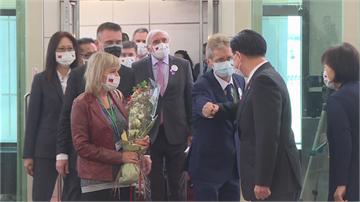 快新聞/捷克參議長韋德齊率團訪台 民進黨:共同抵抗中國壓力的成果