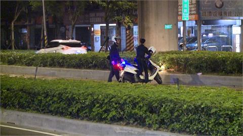 中和轎車拒檢撞警用機車 警方開槍駕駛逃逸