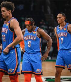 NBA/多特24分助雷霆爆冷擊敗綠衫軍 躲過15連敗紀錄