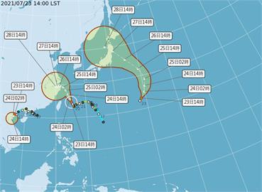 東奧/熱帶低氣壓若成第8號颱風 恐影響東奧賽事