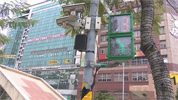 小綠人開金口!專心過馬路 別看手機