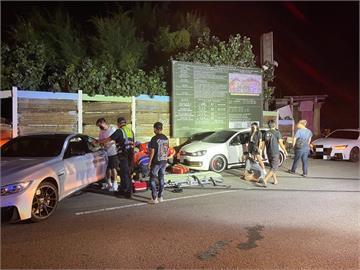 快新聞/桃園觀音深夜轎車撞行人 釀2死3傷