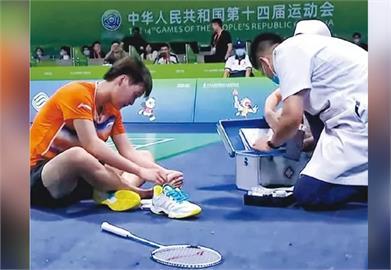 陳雨菲穿中國「李寧」球鞋被割傷腳 品牌股價狂跌市值蒸發382億!