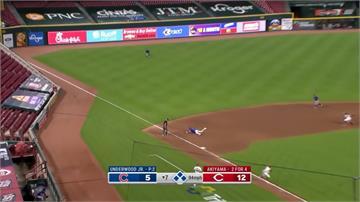 MLB/小熊三殺守備其實是誤判 紅人無奈苦吞
