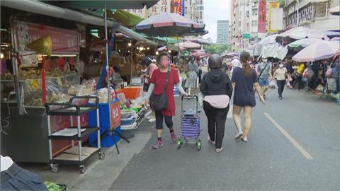 快新聞/北市強制分流第一個週末 濱江市場「人潮剩1/3」