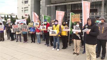 環團抗議苗光電開發 恐毀石虎的家