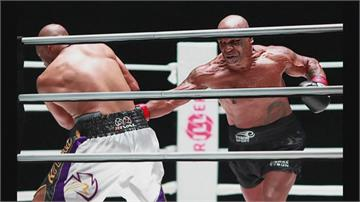 相加破百歲! 前重量級拳王泰森、小瓊斯激戰8回合打平