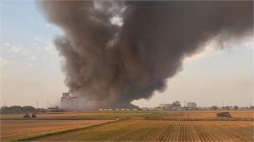 嘉義太保廠房火警 起火點為原料倉庫焦煙狂竄幸無人受傷 原因待釐清