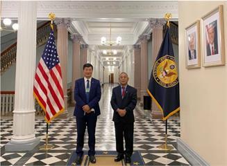 60年來首度 西藏流亡政府首長造訪白宮