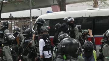 港警又突襲!  民主黨2名立法會議員被捕
