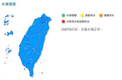 快新聞/「睽違324天」全台水情恢復正常! 水利署宣布旱災應變小組解散
