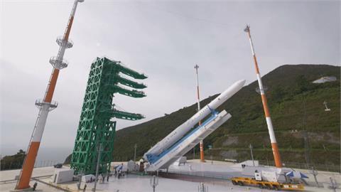 耗時12年! 南韓自主研發火箭「世界號」明下午發射