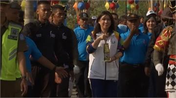 亞運聖火傳遞開跑!印尼羽壇傳奇任大使