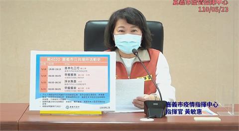 快新聞/嘉義市首例本土足跡曝光 為台南確診者的同事