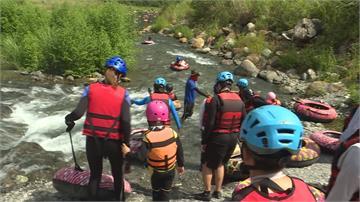 暑假最夯消暑享受台灣美景 南澳「漂漂河」探險玩水樂