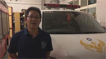 竊車賊拒捕衝撞警車 警開槍擊中前額送醫
