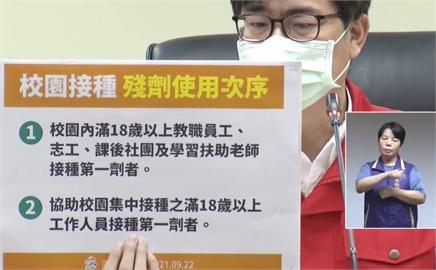 快新聞/高雄校園明開打BNT疫苗 陳其邁公布「這2類」符合殘劑施打順序