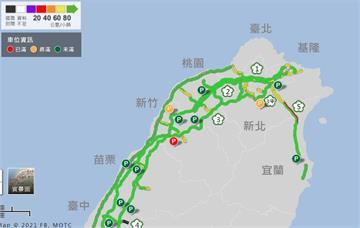 快新聞/收假日塞爆!國5北上「時速不到40公里」 高公局估21時後緩解