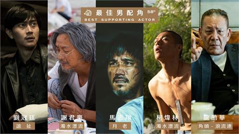 金馬獎入圍名單公佈!龍劭華爭「最佳男配角」惹哭網友