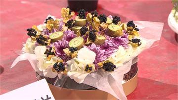 台北花市舉辦「蛋糕大賽」!三百里民發揮創意