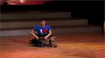 日本輪椅舞蹈家從小苦練 神原健太盼登上帕奧開幕式